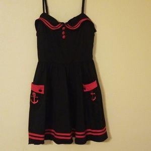 Super cute dress by Hell Bunny Vixen, Medium